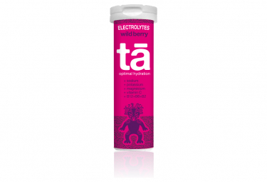 TA Energy Hydration Tabs electrolyte tablets 12 Red Fruits