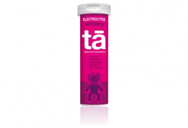 12 Pastilles électrolytes TA Energy Hydratation Tabs Fruits Rouges