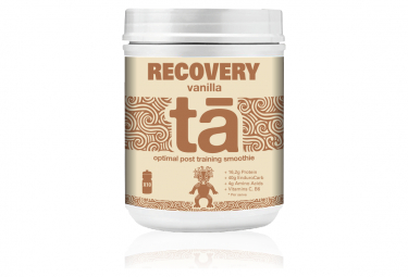 Boisson de récupération TA Energy Recovery Smoothie Vanille 600gr