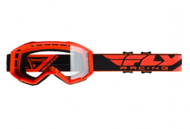 Fly Racing Focus 2020 Kids Mask Orange