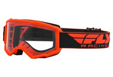 Gafas Fly Racing Focus Naranja   Transparente 2020