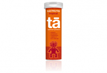 12 Pastilles électrolytes TA Energy Hydratation Tabs Tropical