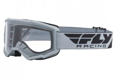 Máscara Fly Racing Focus clear grey