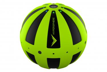 Bola de masaje vibratoria hyperice hypersphere verde negro