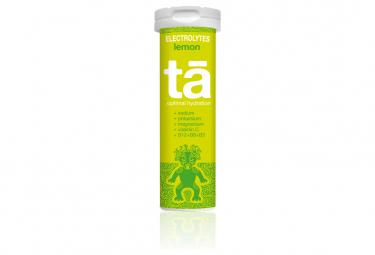 12 Pastilles électrolytes TA Energy Hydratation Tabs Citron