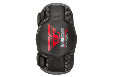 Fly Racing Barricade Kids Elbow Guards Black