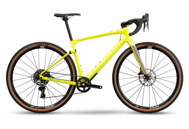 Gravel Bike BMC URS 01 Three Sram Rival 1 11V 700 mm Jaune Sunbeam 2021