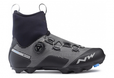 Chaussures VTT Northwave Celsius XC Arctic GTX Noir/Gris Reflective