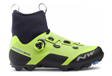 Northwave Celsius XC Arctic GTX MTB Shoes Black / Fluo Yellow