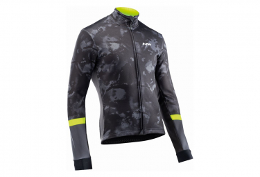 Giacca Northwave Blade Camo Nera / Gialla fluo