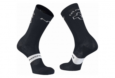 Northwave Eat My Dust Paar Socken Schwarz