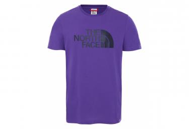 The North Face Easy Camiseta Morada De Manga Corta Para Hombre S