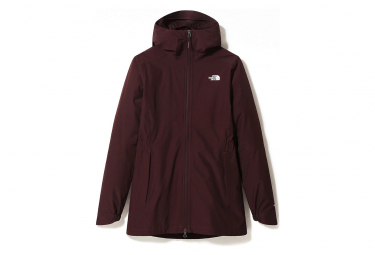 The North Face Hikesteller Impermeable Parka Chaqueta Mujer Dark Red L