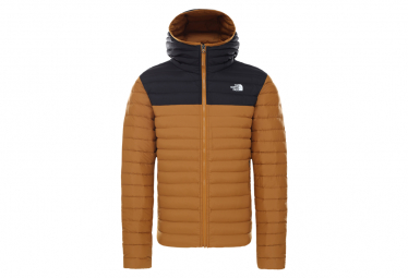 The North Face Stretch Down Jacket Brown / Black Men