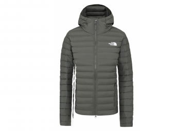The North Face Stretch Down Khaki Chaqueta Con Capucha Para Mujer Xs