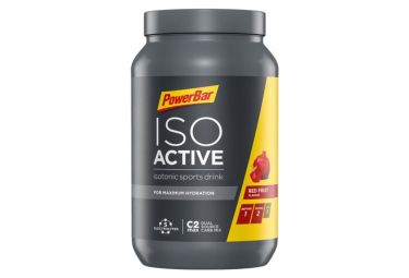 Boisson Energétique Powerbar Isoactive 1320gr Fruits rouges