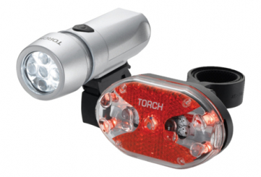 Image of Eclairage torch light set high beamer white 5x tail bright 5x