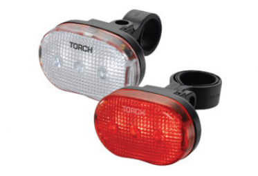 Image of Eclairage torch light set white bright 3 tail bright 3