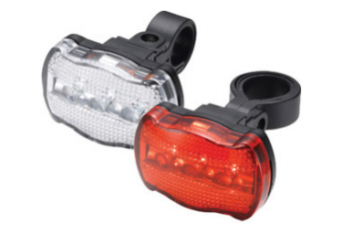 Image of Eclairage torch light set white bright 3x tail bright 3x