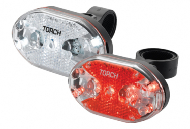 Image of Eclairage torch light set white bright 5x tail bright 5x