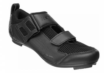 Paire de Chaussures Triathlon Neatt Asphalte Tri Noir
