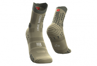 Compressport Pro Racing V3.0 Trail High Socks Green