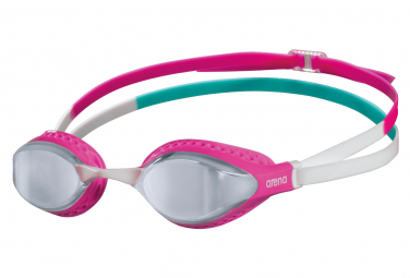Swimming goggles Arena AIR-SPEED MIRROR SILVER PINK