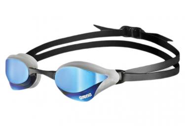 Lunettes de bain arena cobra core swipe verres effet miroir bleus