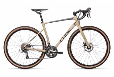 Würfel Nuroad Pro Kies Fahrrad Shimano Tiagra 10S 700 mm Desert Beige 2021