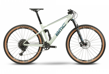 VTT Tout-Suspendu BMC Fourstroke 01 LT Two Sram GX Eagle 12V 29'' Vert Sand Violet Haze 2021