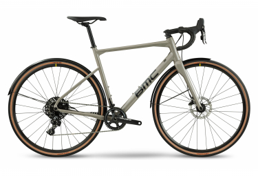 Gravel Bike BMC Roadmachine X Sram Apex 11V Gris