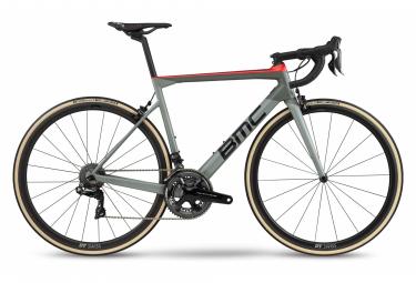 BMC Teammachine SLR01 One Road Bike Shimano Dura-Ace Di2 11S 700 mm Airforce Grey Super Red 2020