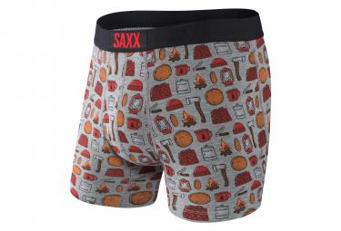 Boxer Saxx Ultra Lumber Jack Gris