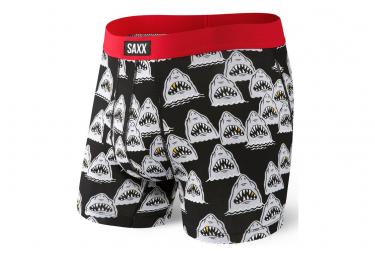 Boxer Saxx Daytripper Shark Grill Black