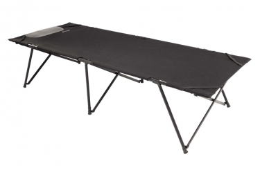 Image of Outwell lit de camping posadas simple xl noir acier 470330