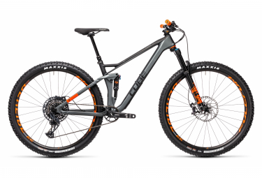 Cube Stereo 120 HPC TM 29 MTB Sram GX / NX Eagle 12S 29'' Flash Grey Orange 2021 mit Vollfederung