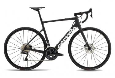 Bicicleta de carretera Cervélo Caledonia Disc Shimano Ultegra Di2 11S Negro / Blanco 2021