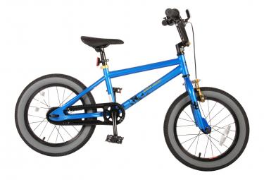 Vélo enfant Volare Cool Rider - Garçons - 16 pouces - Bleu - 95% assemblé