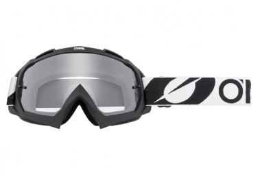 Masque O'Neal B-10 TwoFace Noir / Ecran Transparent