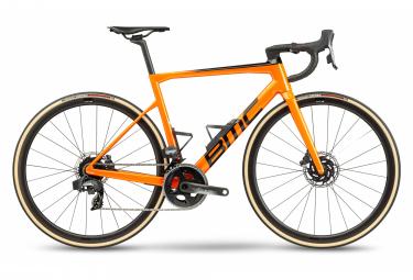 Bicicleta de carretera BMC Teammachine SLR01 Three Sram Force eTap AXS 12S 700 mm Naranja 2021