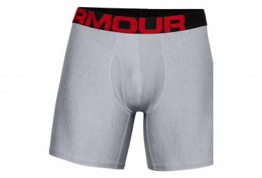 Under Armour Tech 15cm  Paquete De 2  Boxer Gris Hombre Xl