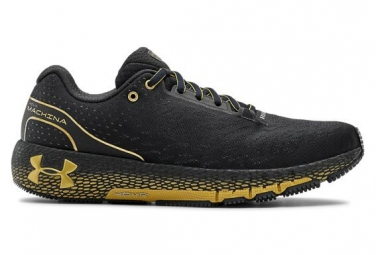 Zapatillas Under Armour HOVR Machina para Hombre Negro / Oro