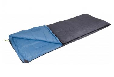 Image of Camp gear sac de couchage comfort deluxe 220x90 cm gris et bleu 3605766