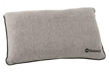 Image of Outwell oreiller 42 x 26 x 6 cm mousse a memoire gris 230075