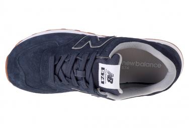 cambiar Diverso binario  New Balance ML574EMA, Homme, Bleu marine, sneakers | Alltricks.com