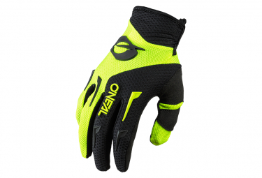 Guantes O  39 Neal Element Long Amarillo Neon   Negro Xxl