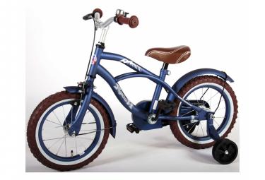 Vélo enfant Volare Blue Cruiser - garçon - 14 po - bleu - assemblé à 95 %