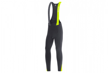 Malla Larga Gore Wear C5 Thermo Negro   Amarillo Fluo S