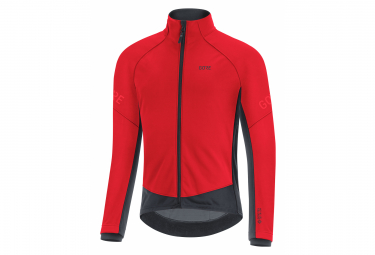 Veste Thermo GORE Wear C3 Gore-Tex Infinium Thermo Rouge Noir