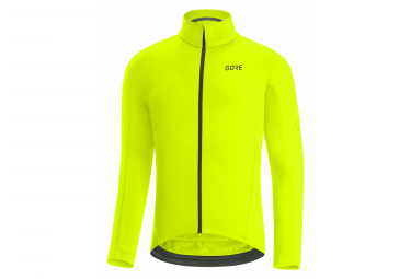 Maillot Mangas Largas Gore Wear C3 Thermo Amarillo Fluo M